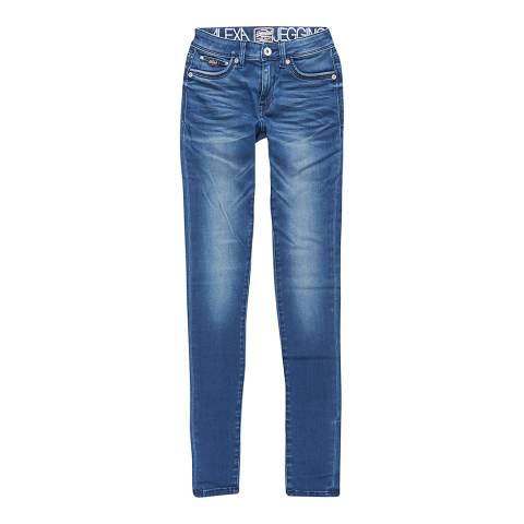 Superdry Harbour Blue Alexia Jeggings
