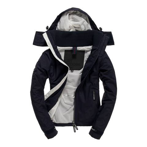 Superdry French Navy/Ecru Cliff Hiker Coat