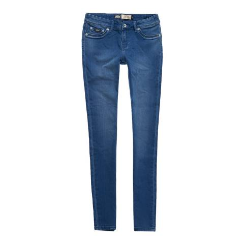 Superdry Indigo Wash Alexia Jeggings