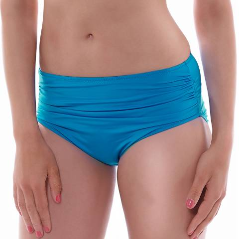 Fantasie China Blue Versailles Deep Gathered Brief