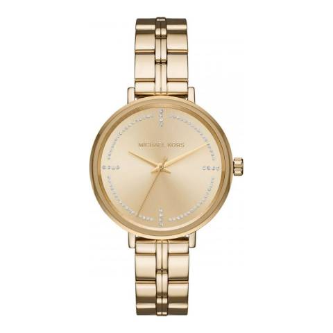Michael Kors Women's Gold Bridgette Watch