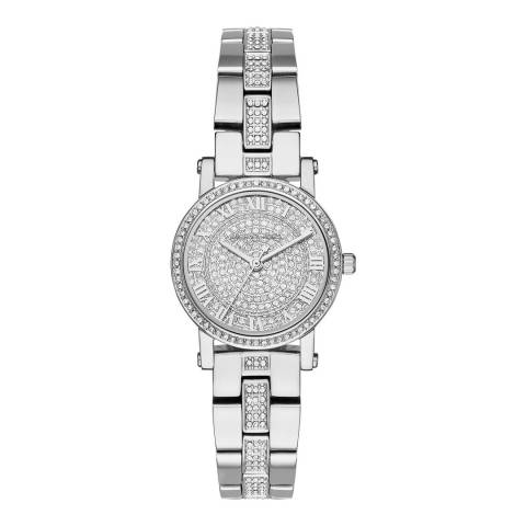 Michael Kors Women's Silver Petite Norie Watch