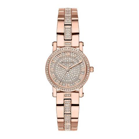 Michael Kors Women's Rose Gold Petite Norie Watch
