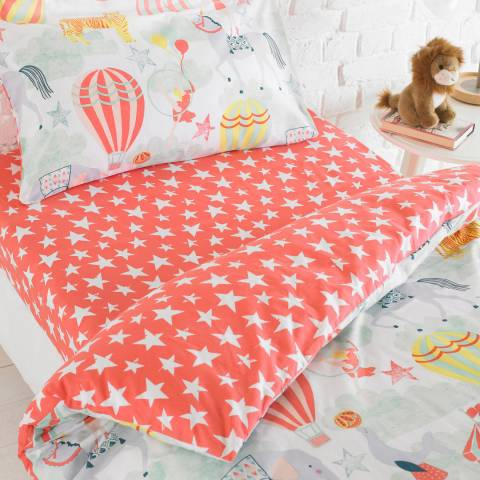 Paoletti Vintage Circus Single Fitted Sheet