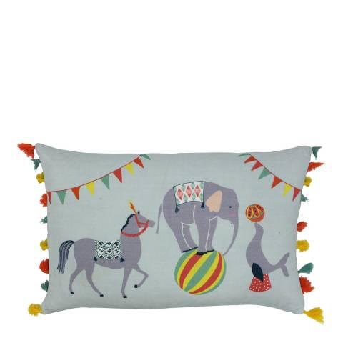 Paoletti Vintage Circus 30x50cm Cushion