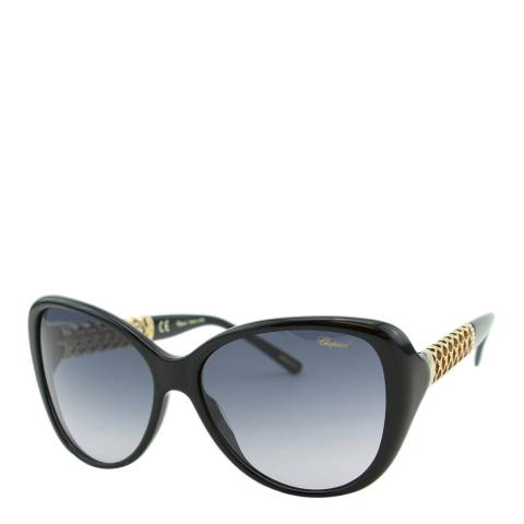 Chopard Women's Black/Gold Chopard Sunglasses 52mm