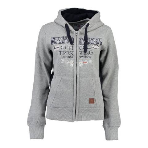 Geographical Norway Women's Grey Gladys Hoodie