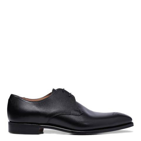 Joseph Cheaney & Sons Black Leather Liverpool Derby Shoes