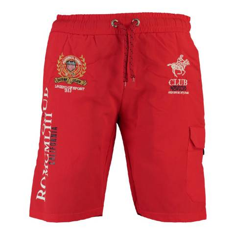 Geographical Norway Men's Red Qiwi Shorts