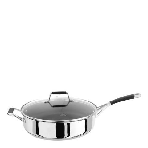 Stellar Stainless Steel Non-Stick Saute Pan, 28cm