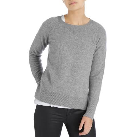 Laycuna London Mid Grey Nadine Cashmere Sweater