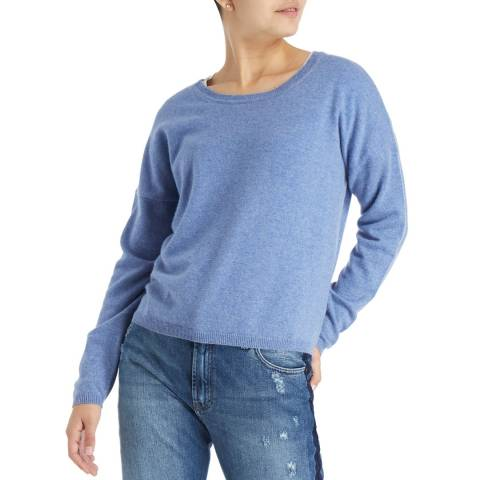 Laycuna London Stonewash DD Scoop Cashmere Jumper