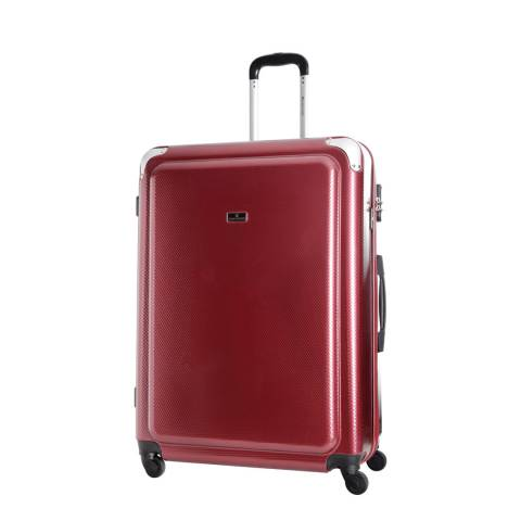 Platinium Bordeaux Robinson 4 Wheeled Suitcase 60cm
