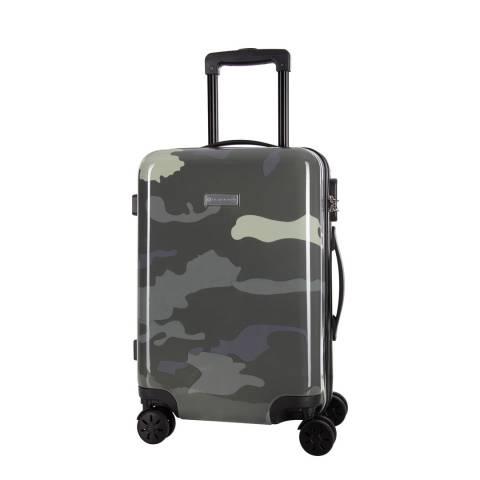 Platinium White/Grey Marshall 8 Wheeled Suitcase 60cm