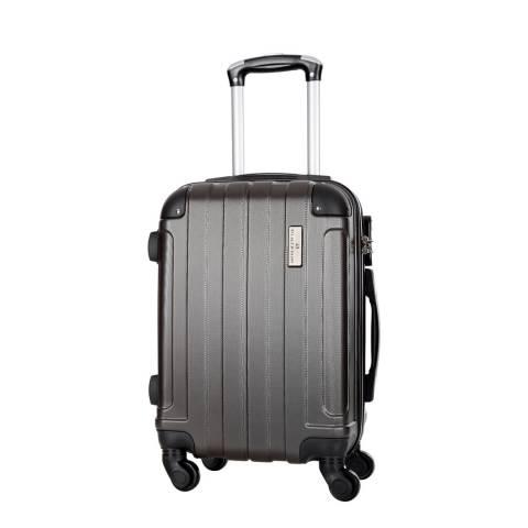 Platinium Grey Delos 4 Wheeled Suitcase 56cm