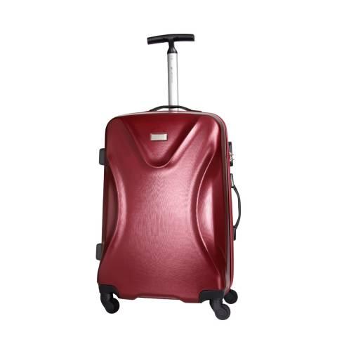 Platinium Bordeaux Solway 4 Wheeled Suitcase 60cm