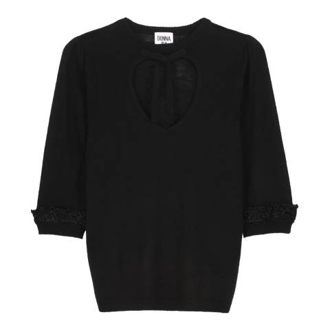 Donna Ida Black Bang On Bonnie Top