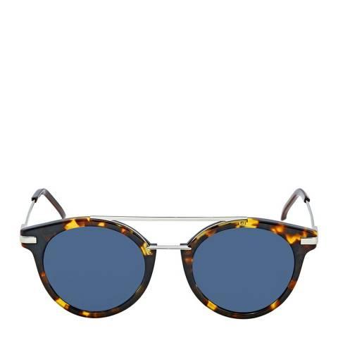 Fendi Women's Black/Silver Sunglasses 55mm