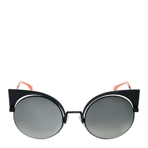 Fendi Women's Matte Black Eyeshine Sunglasses 53 mm