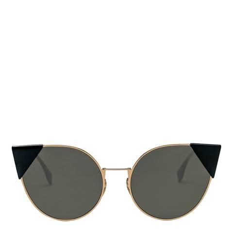 Fendi Women's Rose Gold Lei Sunglasses 57 mm