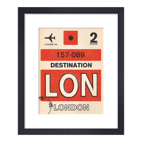 Nick Cranston Destination   London 36x28cm
