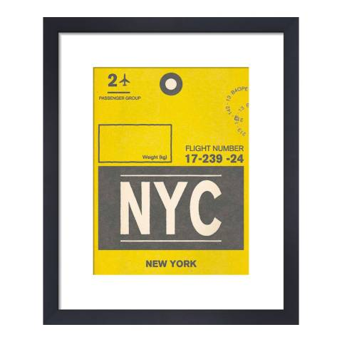 Nick Cranston Destination - New York, 28x36cm