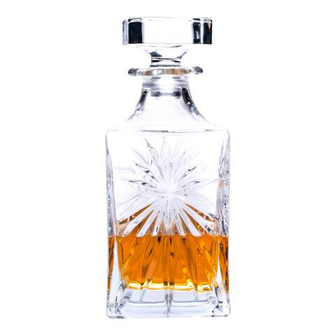 RCR Crystal Oasis Crystal Square Decanter, 850ml