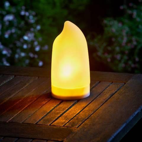 Smart Solar Cool Flame Lantern