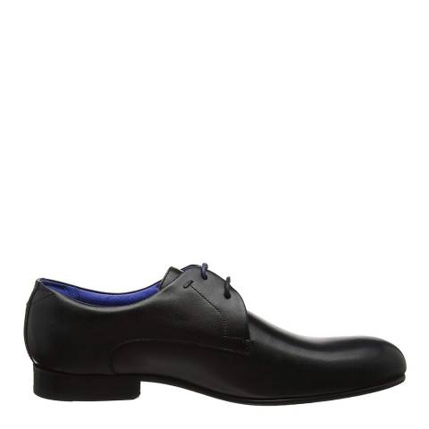 Ted Baker Black Leather Bapoto Classic Derby Shoes