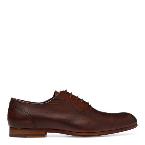 Ted Baker Brown Leather Haiigh Oxford Shoes