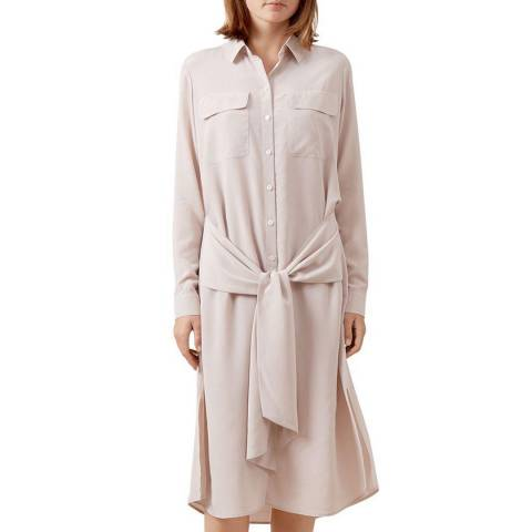 Hobbs London Pale Pink Lucy Dress