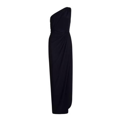 Hobbs London Navy Neve Maxi Dress