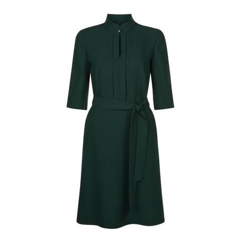 Hobbs London Dark Green Lois Dress