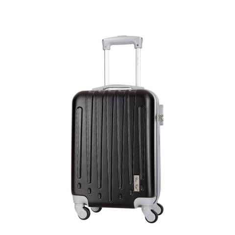 Bruce Field Black Denis 4 Wheeled Suitcases 21cm