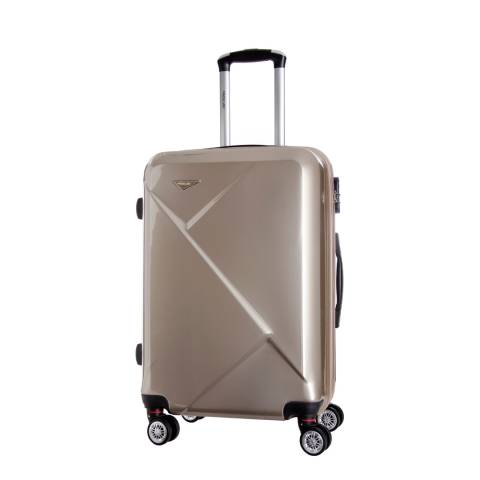Travel One Beige Azul 8 Wheel Suitcase 60cm