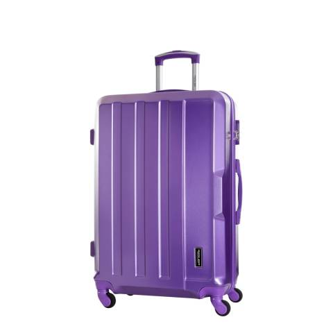 Travel One Burgundy Vilarosa 4 Wheel Small Suitcase 46cm