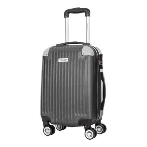 Travel One Grey Nosara 8 Wheel Suitcase 66cm