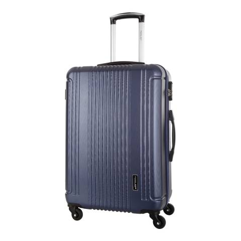 Travel One Blue Barton 4 Wheel Large Suitcase 70cm