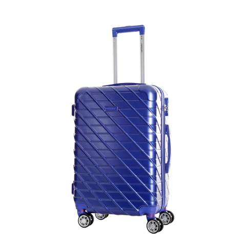 Travel One Blue Leiria 8 Wheel Suitcase 56cm