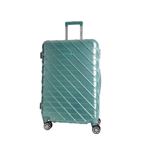 Travel One Green Leiria 4 Wheel Suitcase 46cm