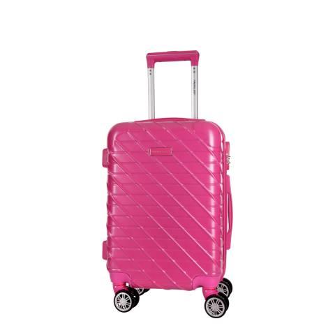 Travel One Fuchsia Leiria 4 Wheeled Suitcase