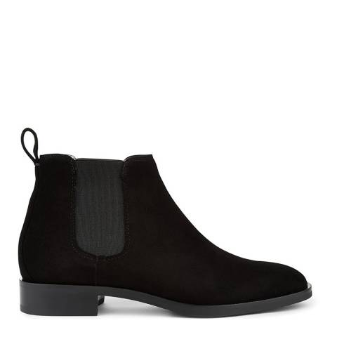 Hobbs London Black Suede Wren Chelsea Boots