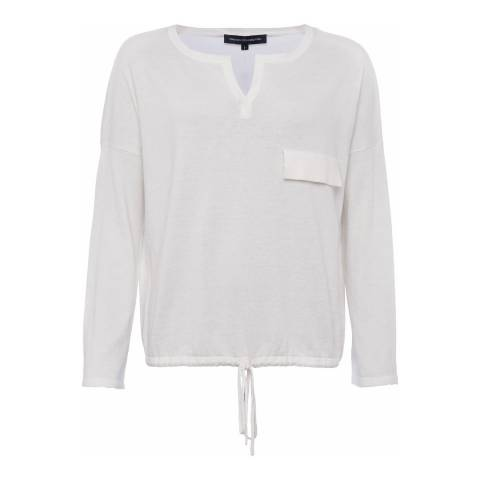 French Connection Summer White Thin Knit Jumper