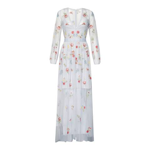French Connection Sea Breeze Christy Bloom Maxi Dress