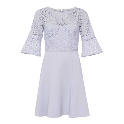 French Connection Sea Breeze Whisper Ruth Lace Fit Dress