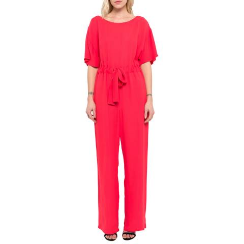 French Connection Azalea Patras Crepe Long Jumpsuit
