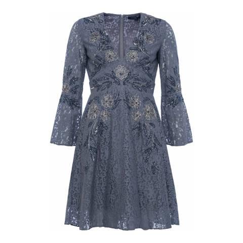French Connection Smokey Esme V-Neck Dress