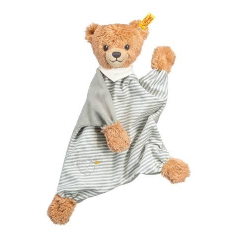 Steiff Grey Sleep Well Bear Comforter
