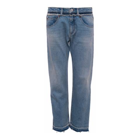 French Connection High Rise Cropped Straight Jeans