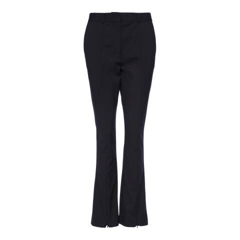 French Connection Black Glass Stretch Trousers